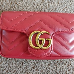 Gucci Marmont Super Mini Flap Crossbody